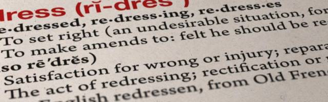 Redress definition
