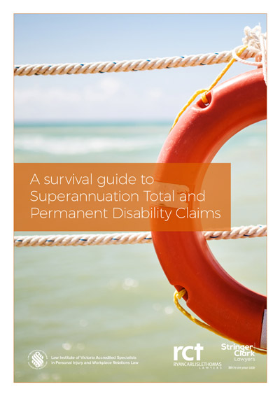 Superannuation TPD eBook