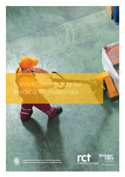 A WorkCover guide for medical professionals eBook